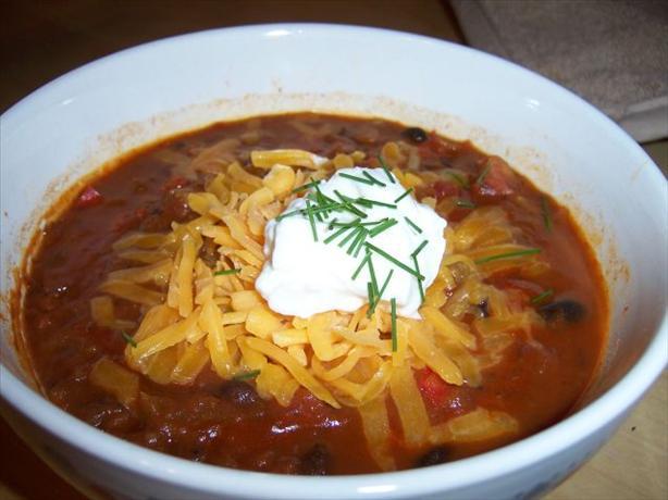Judy's Vegetarian Black Bean Soup