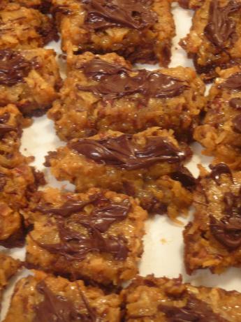Coconut-pecan Bar Cookies