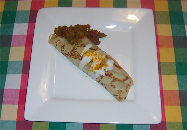 Indian Inspired Crepes