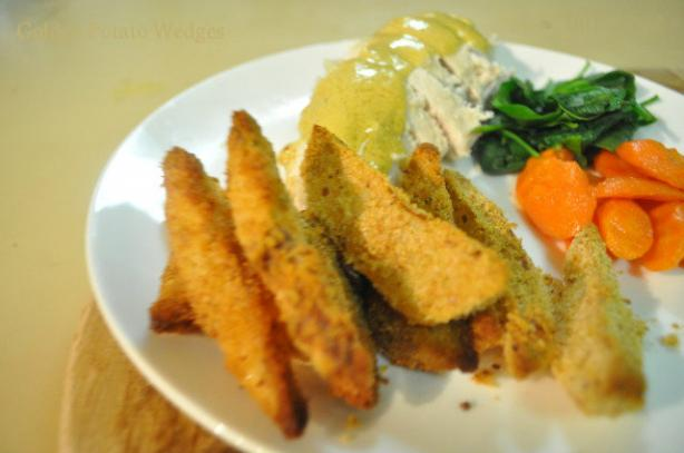 Golden Potato Wedges