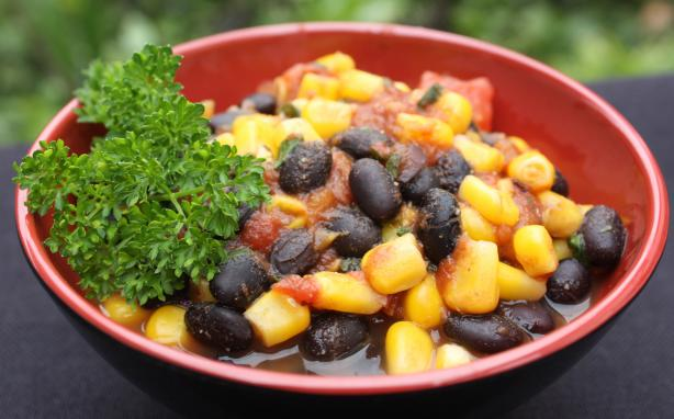 Teresa's Black Beans and Corn