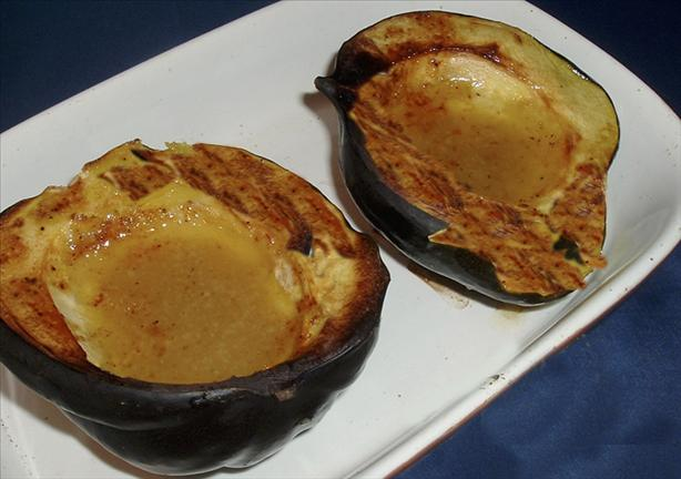 Baked Acorn Squash With Mustard and Honey