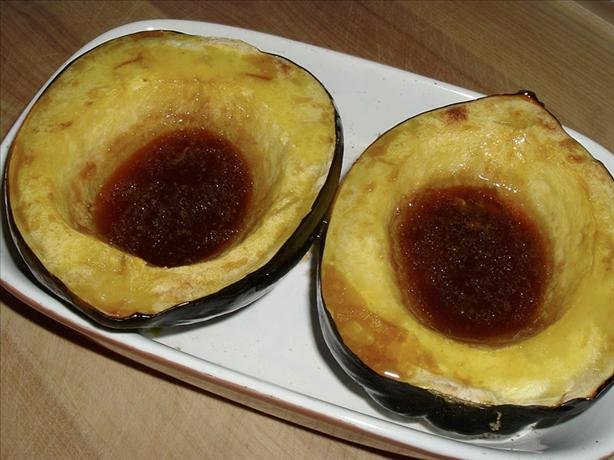 Baked Acorn Squash With Sherry (Thanksgiving)