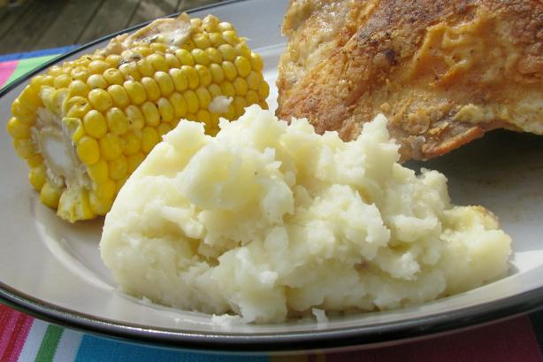 Top of the Line Garlic Mashed Potatoes