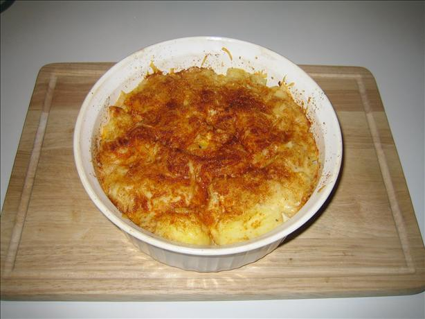 Hungarian Egg and Potato Casserole