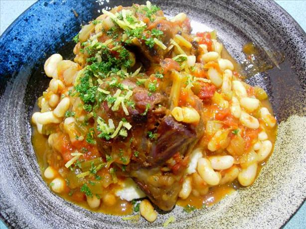 Lamb and White Bean Casserole