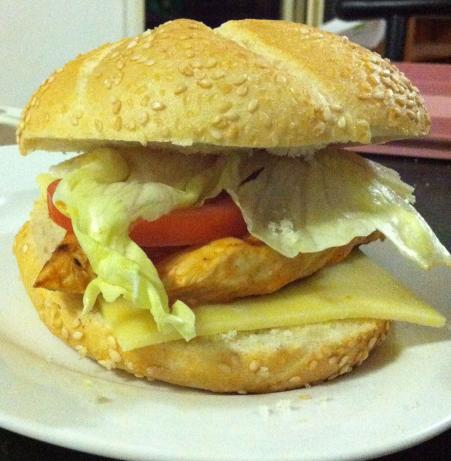 Tex - Mex Chicken Sandwiches