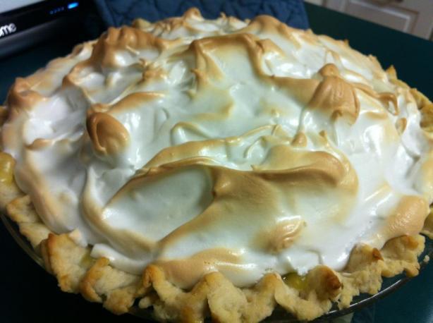 Fresh Lemon Meringue Pie