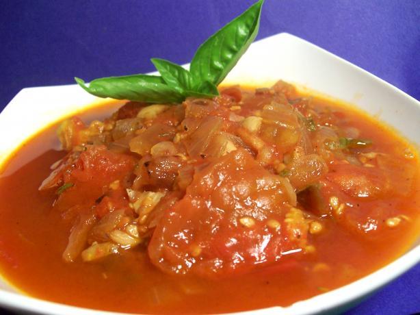 Fresh Crock Pot Tomato Sauce