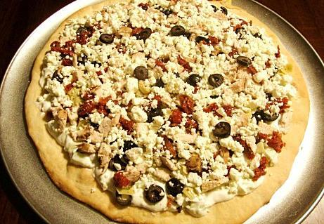 Greek Tzatziki Chicken Pizza #RSC