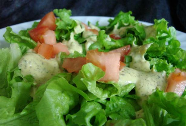 Creamy Pesto Salad Dressing