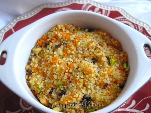 Baked Couscous Pilaf