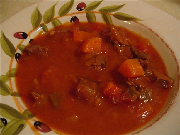Beef-Tomato Soup