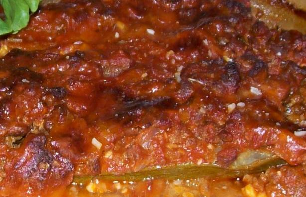 Zucchini & Beef Italiano
