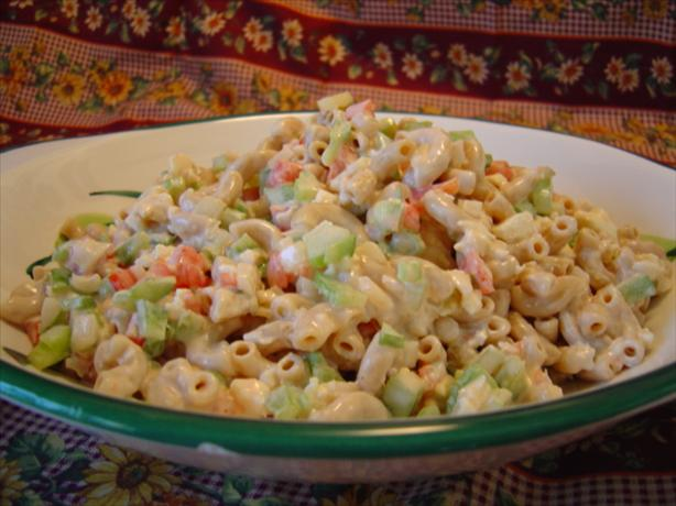 Fresh 'n' Tasty Macaroni Salad