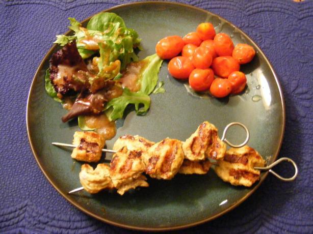 Silken Chicken Tikka Kebabs