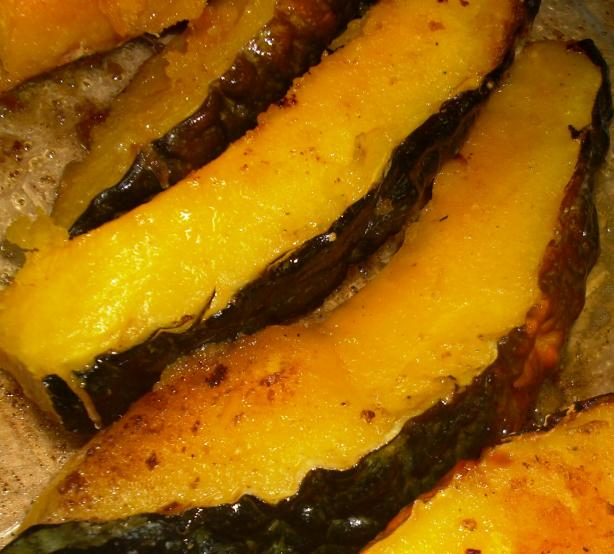 Grilled Pumpkin With Rosemary and Sea Salt