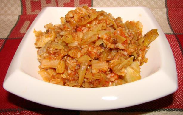 Lazy Cook's Golumpki (Stuffed Cabbage)