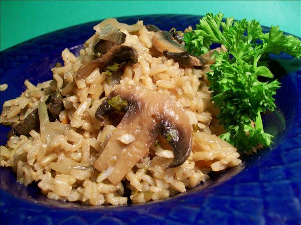 Easy Mushroom Rice Pilaf