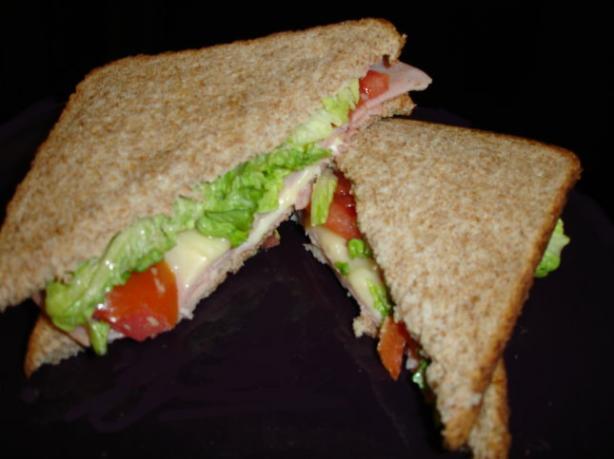 "The ""slim"" Jim Sandwich"