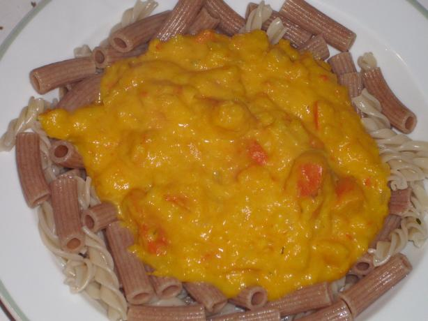 Creamy Hokkaido Squash Pasta Sauce
