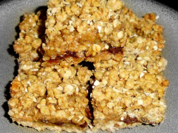 Light Low-Fat Oatmeal Carmelitas (Half Whole Wheat)