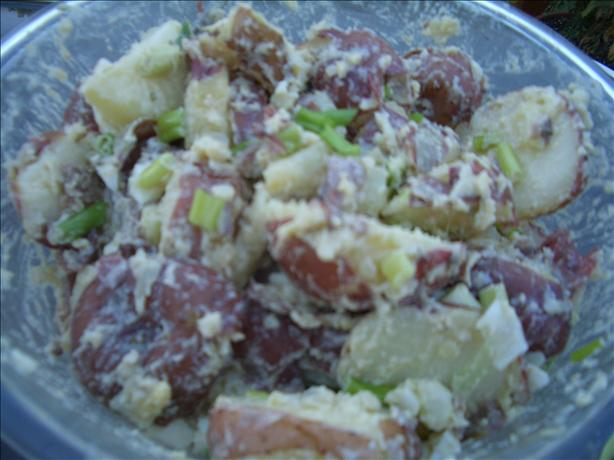 Potato Anchovy Salad
