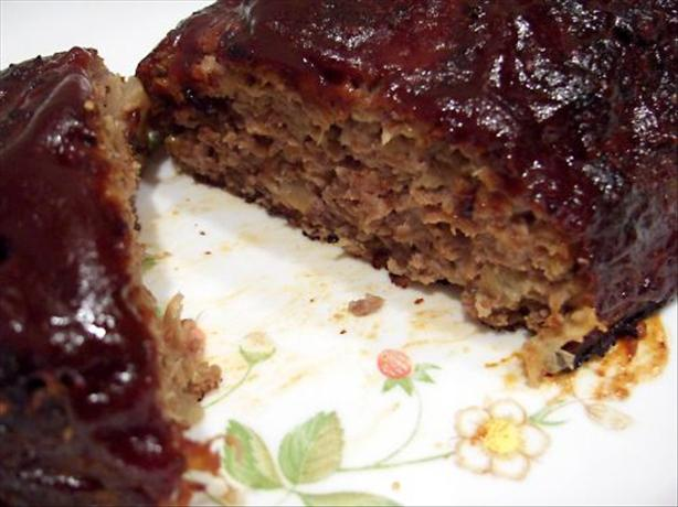 My Own Best BBQ'ed Meatloaf!