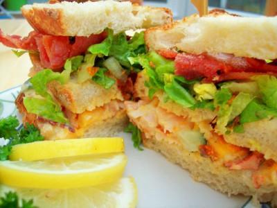 Lobster & Mango Sandwiches
