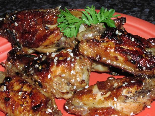 Soy Glazed Chinese Chicken Wings
