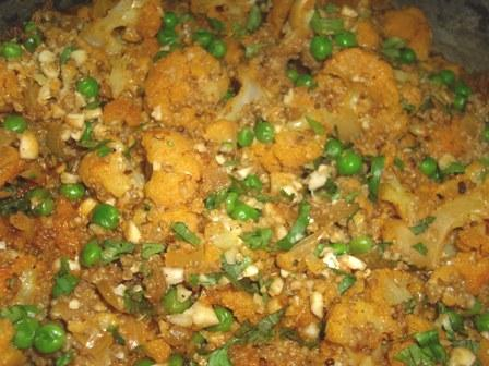 Curried Quinoa And Cauliflower