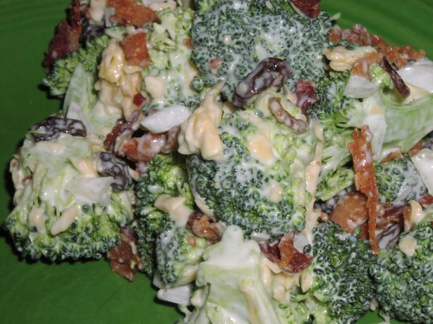 Broccoli, Bacon and Cheese Salad