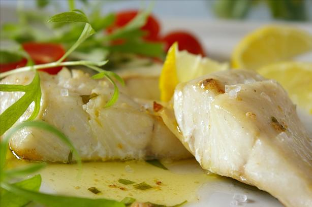 Easy Halibut Fillets with Herb Butter