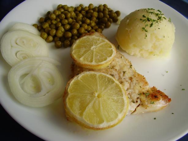 Baked Haddock - Gebraden Schelvisch