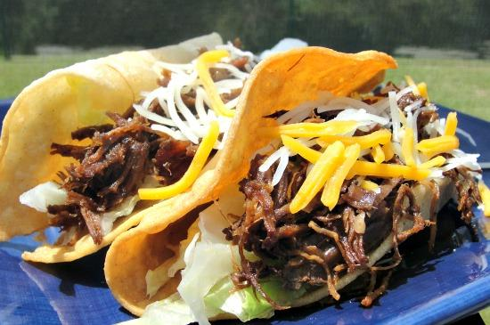Chipotle Shredded Beef for Tacos or Burritos