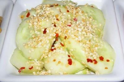 Asian Sesame-Cucumber Salad