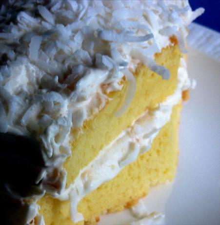Bacardi Pina Colada Cake