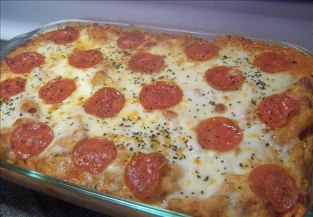 Ziti Pepperoni Casserole