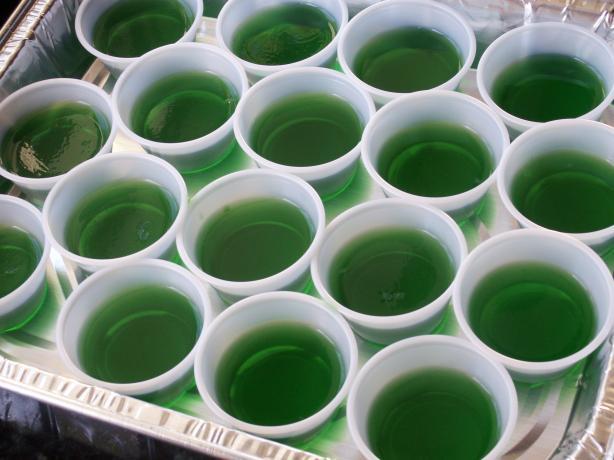 Amaretto Sour Jello Shots