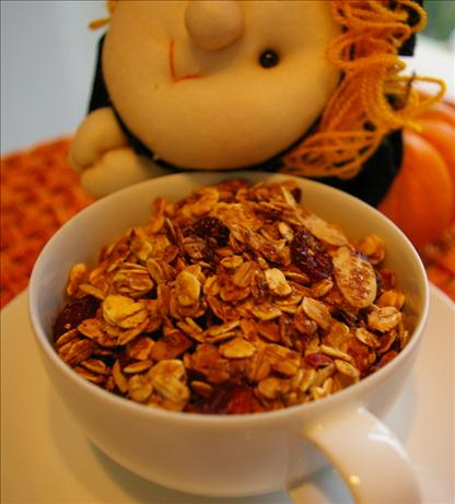 Lower Fat Granola With Your Choice of Fruits