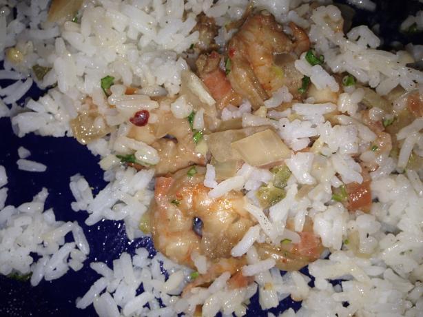 Tantalizing Thai Shrimp Pasta