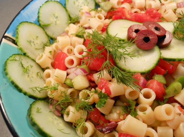 Gazpacho Macaroni Salad