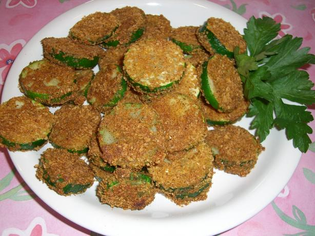 Clare's Baked Zucchini Coins