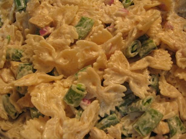Curry Chicken Pasta Salad