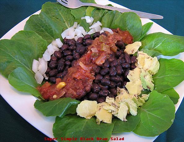 Super Simple Black Bean Salad