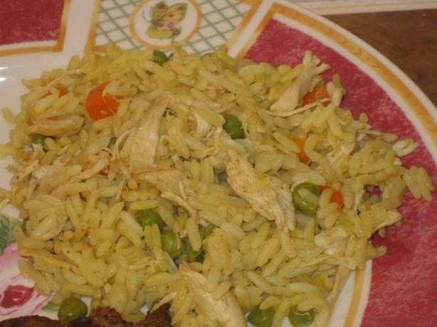 Central American Yellow Rice and Chicken