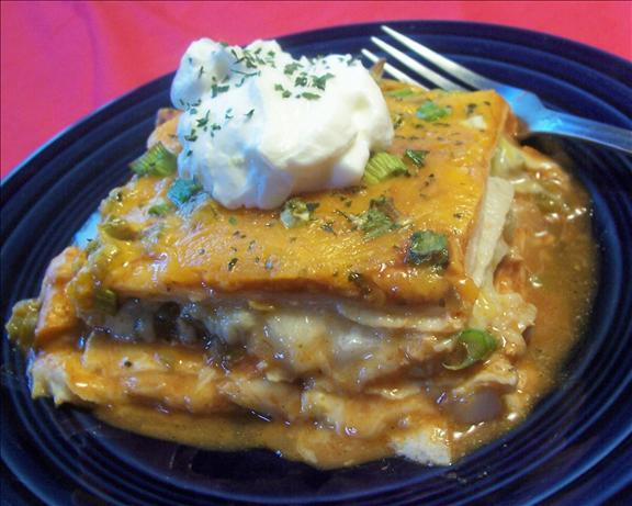Cheese Enchilada Stack