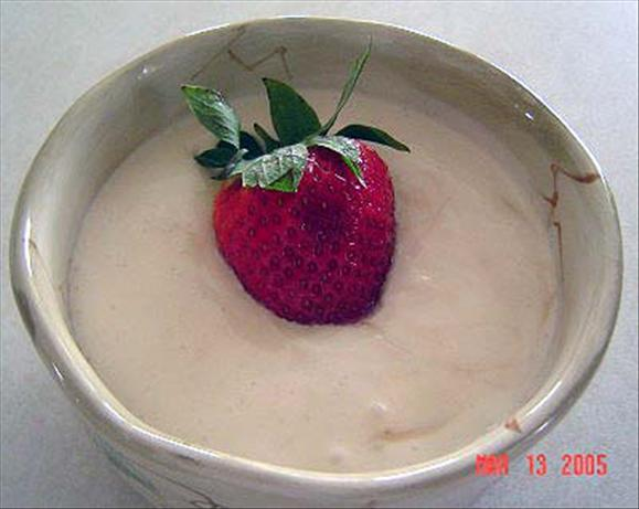 Sour Cream Fruit Dip