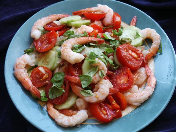 Thai-Style Tomato and Shrimp Salad