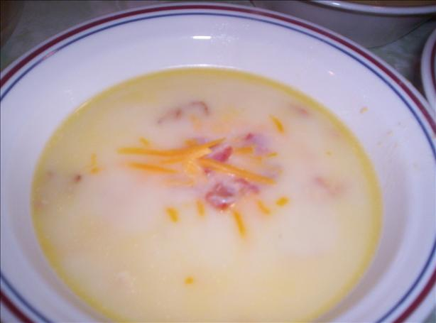 Loaded Baked Potato Soup (Gluten Free)